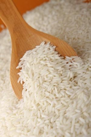 uncooked rice Stock Photo - 9091192