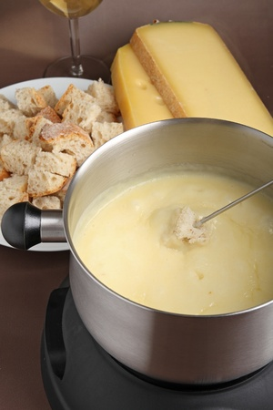 cheese fondue photo