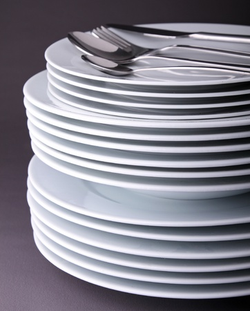pile of plate Stock Photo - 9904608