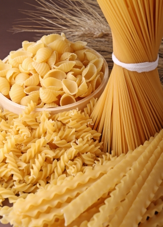 various: uncooked pasta