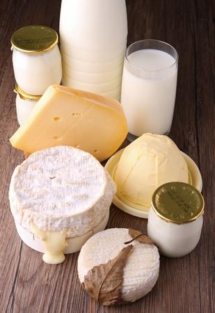 dairy: молочные продукты Фото со стока