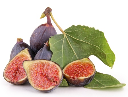 isolated figs Stock Photo - 10519721