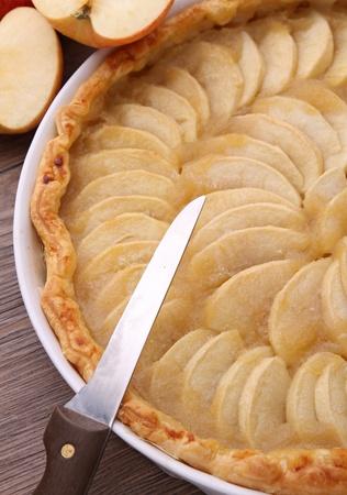 apple tart: apple tart