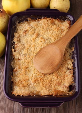 apple crumble Stock Photo - 10953227