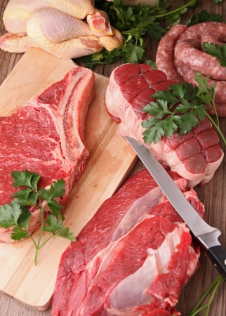 raw meat Stock Photo - 11353199