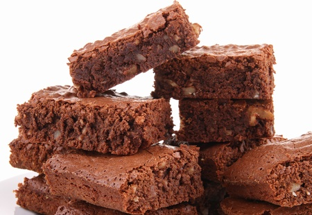 brownie: Brownies Foto de archivo