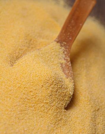 corn flour: raw polenta