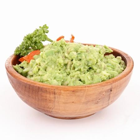 guacamole: bowl of guacamole