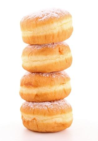 doughnut: stack of doughnut