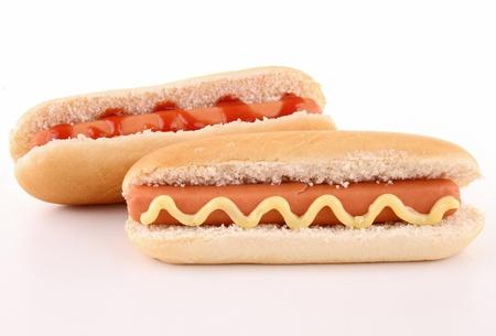 isolated hot dog photo