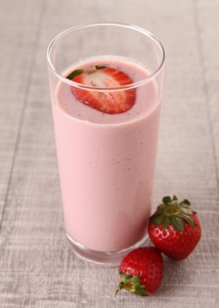 erdbeer smoothie: Erdbeer-Smoothie