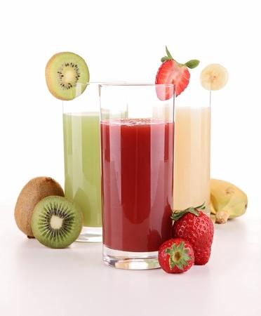 isolated fruit juice photo