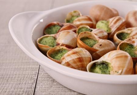 bourgogne: bourgogne snails