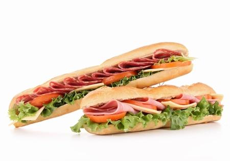 sub sandwich: isolated sandwich