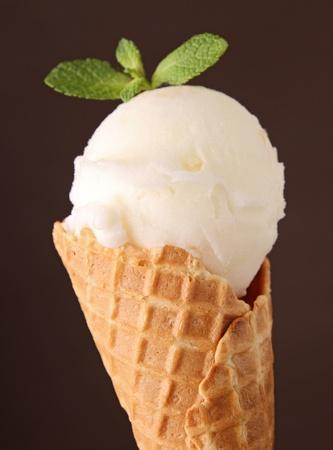 ice cream in cone Stock Photo - 13057951