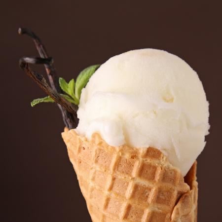 ice cream in cone Stock Photo - 13211763