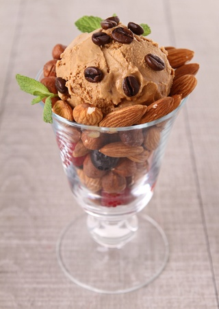 coffee ice cream photo