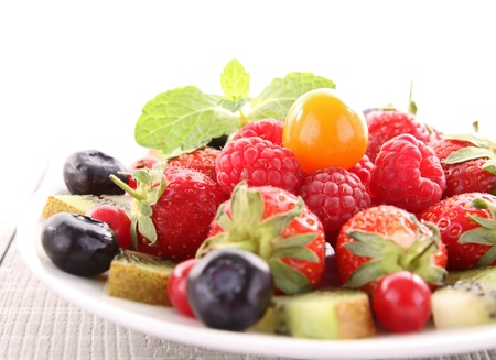 ensalada de frutas: Ensalada de frutas Foto de archivo