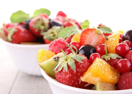 fresh fruits: fruit salad