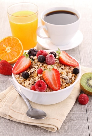 breakfast cereal: breakfast Stock Photo