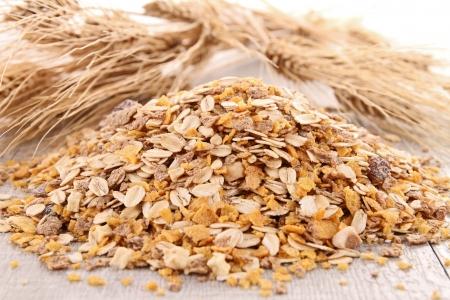 muesli: oat flakes