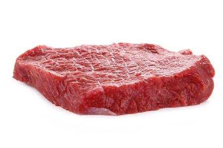 raw steak: raw beef Stock Photo