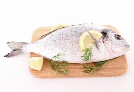 sea bream: raw sea bream