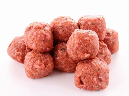raw meatballs Stock Photo - 13661473