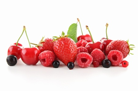 assorted of berry fruit photo