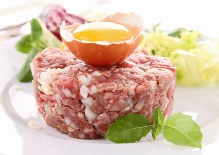 steak tartare: steak tartare