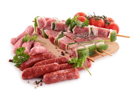 assortment of raw meats Stock Photo - 14029738