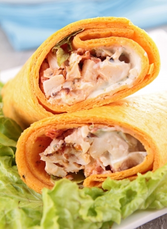 tortilla wrap photo