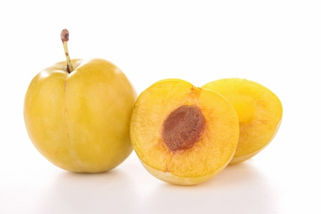 mirabelle, yellow plum photo