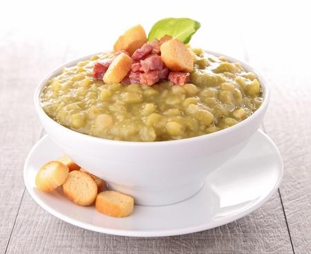 スプリットピー スープ