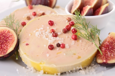foie gras with figs photo