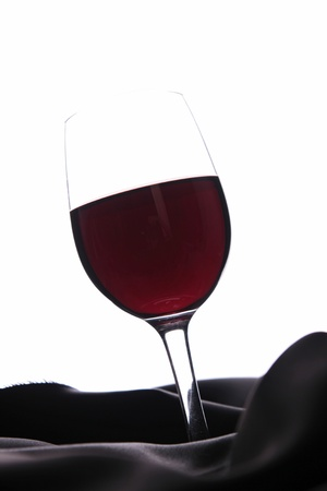 red wineglass photo