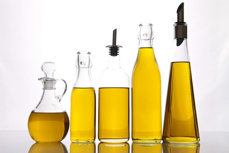 cooking oil: olive oil carafe
