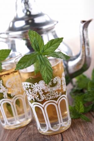 mint thee en theepot