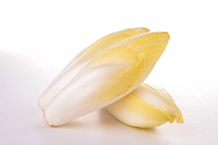 endive: isolated chicory