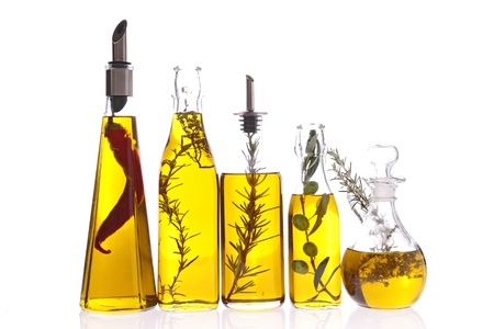 bottle of cooking oil photo