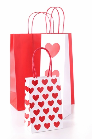isolated shopping bag photo
