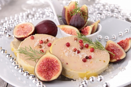 foie gras: foie gras and fig
