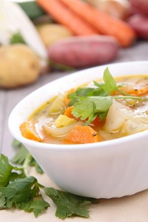 aroma bowl: vegetable soup