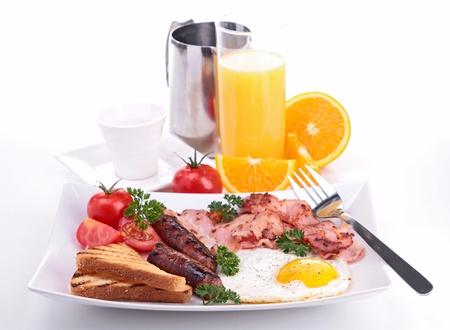 juice fresh vegetables: breakfast Stock Photo