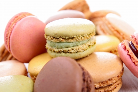 assortment of macaroons Stock Photo - 16325275