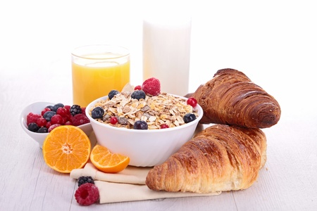 healthy breakfast Stock Photo - 16569245