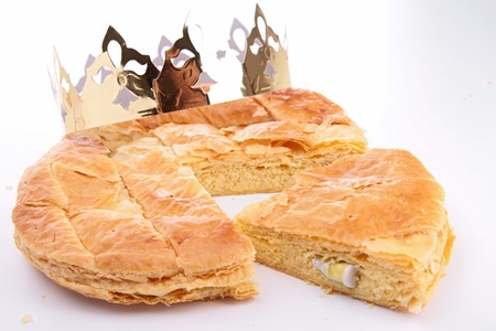 epiphany cake Stock Photo