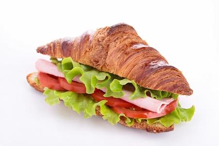 croissant: sandwich