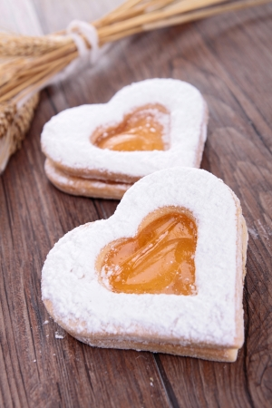 heart shape biscuit photo