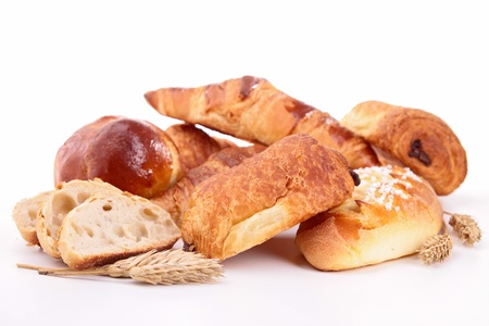 puff: assortment of bread and pastries